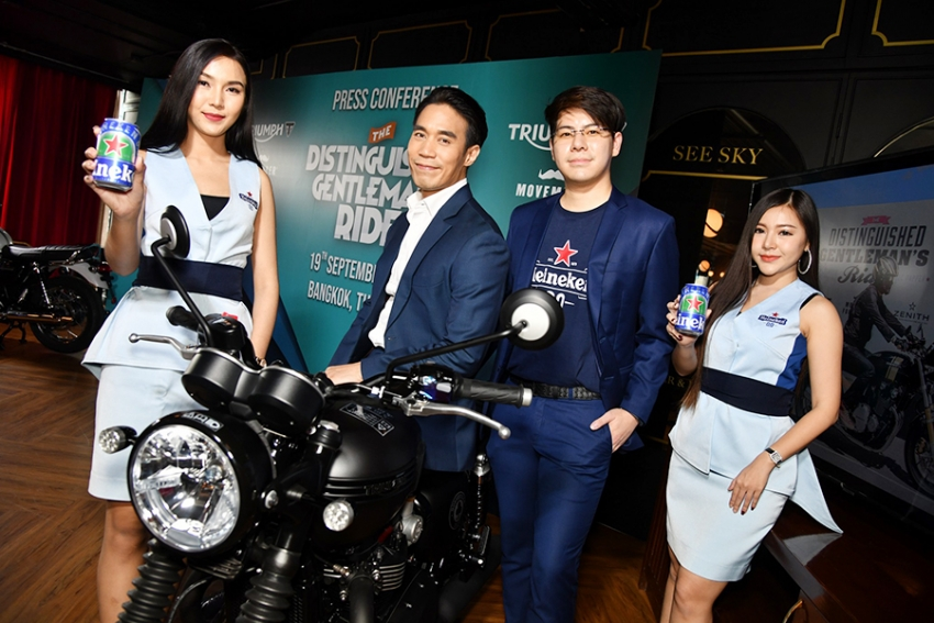 Now You Can Drink Before Ride เตรียมพบกับไฮเนเก้น 0.0