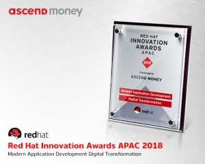 Ascend Money คว้ารางวัล Red Hat Innovation Awards APAC 2018