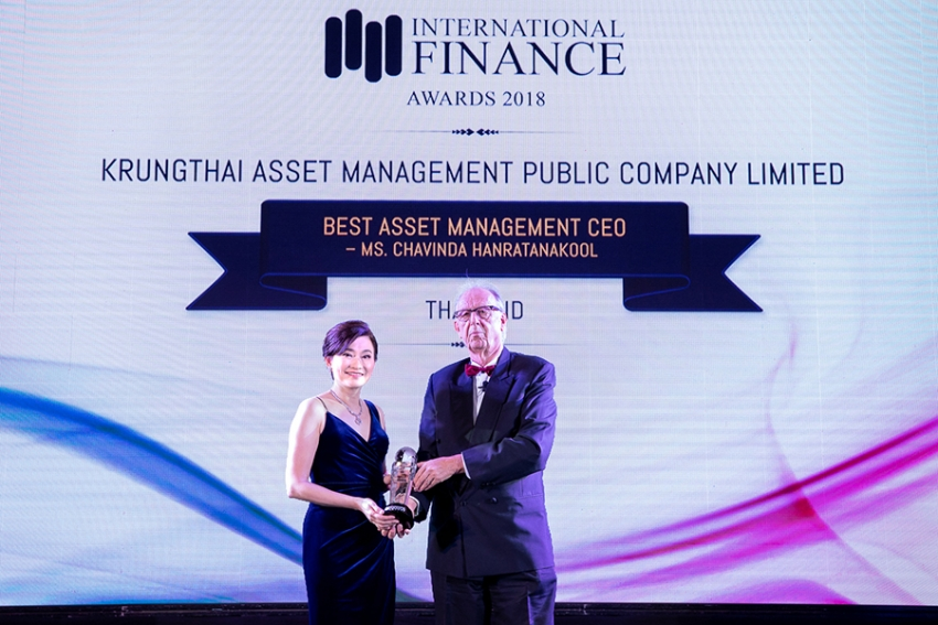 KTAM รับรางวัล Best Asset Management CEO Thailand