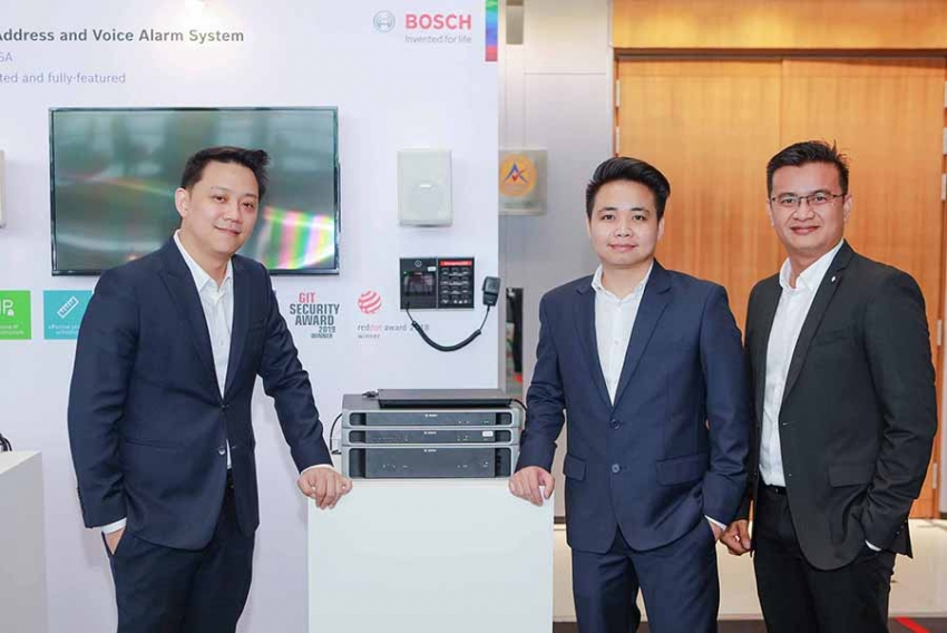 Bosch Hosts Bosch Building Technologies 2019 Launching New Products, Aiming for IoT Leadership